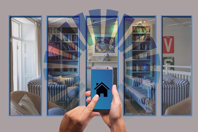 ovládání domu mobilem