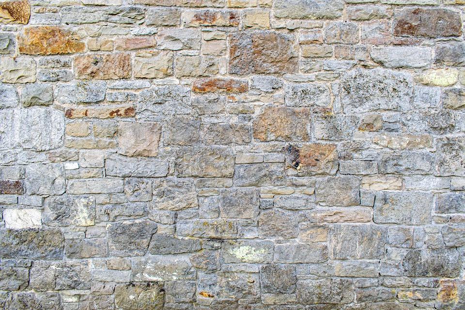 kamenná zeď