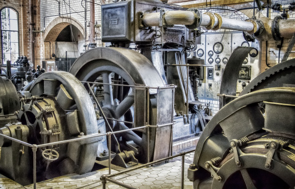 průmyslový generátor